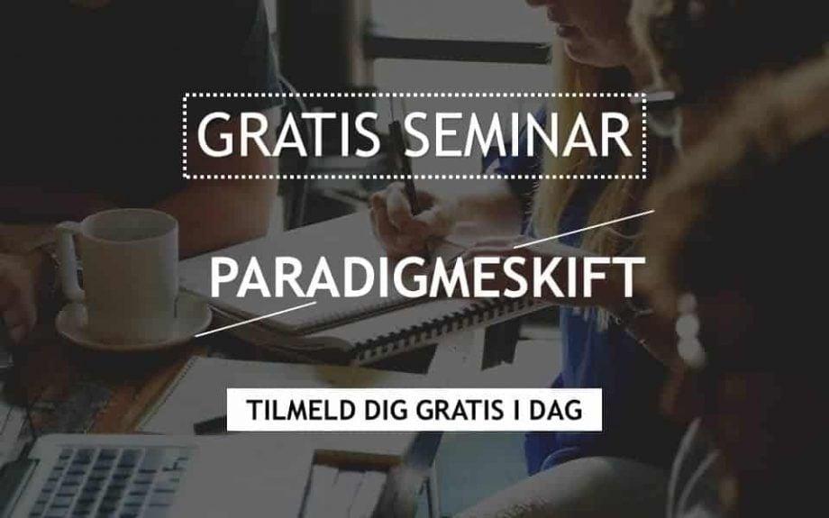 Gratis seminar