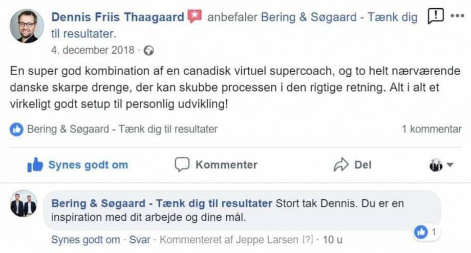 dennis friis facebook