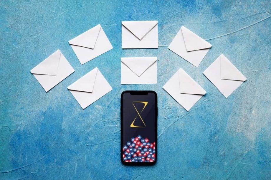 email sekvens mockup