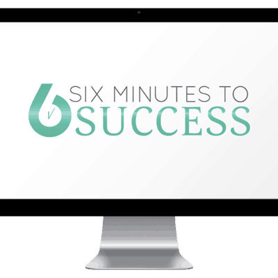 Six minutes to success imac mockup