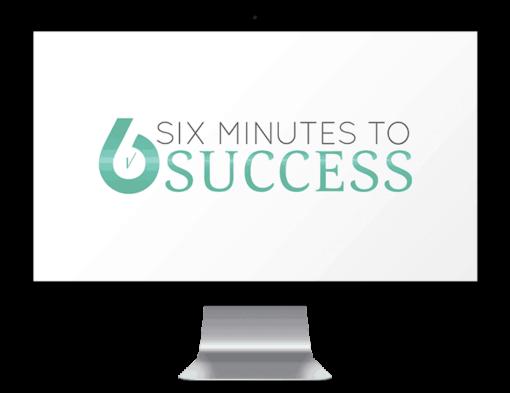 Six minutes to success imac mockup
